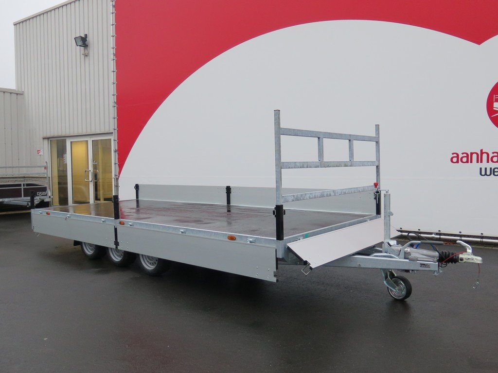 Proline plateauwagen 503x202cm 3500kg verlaagd tridemas Aanhangwagens XXL West Brabant vlak