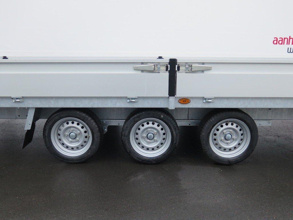 Proline plateauwagen 503x222cm 3500kg verlaagd tridemas Aanhangwagens XXL West Brabant 3-as Aanhangwagens XXL West Brabant