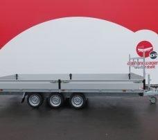 Proline plateauwagen 503x222cm 3500kg verlaagd tridemas Aanhangwagens XXL West Brabant hoofd
