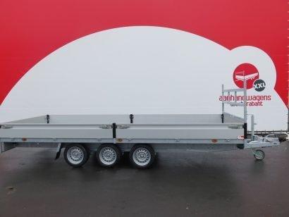 Proline plateauwagen 503x222cm 3500kg verlaagd tridemas Aanhangwagens XXL West Brabant hoofd Aanhangwagens XXL West Brabant