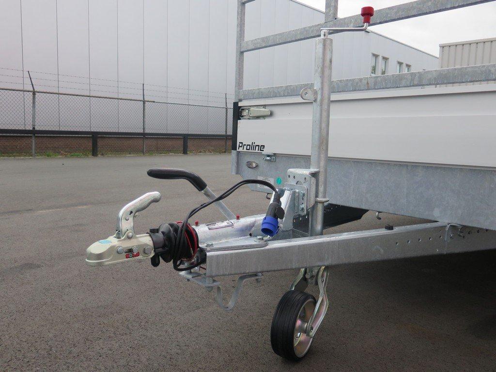 Proline plateauwagen 603x202cm 3500kg verlaagd Aanhangwagens XXL West Brabant 2.0 dissel Aanhangwagens XXL West Brabant