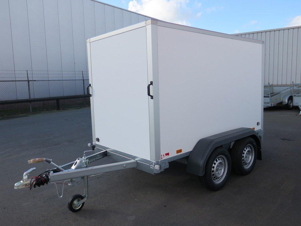 Saris gesloten aanhanger 256x134x150cm 2000kg Aanhangwagens XXL West Brabant 2.0 overzicht