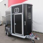 Ifor Williams HB506 2 paards paardentrailer met zadelkamer Aanhangwagens XXL West Brabant voorkant Aanhangwagens XXL West Brabant