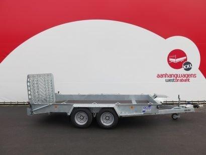 Ifor Williams machinetransporter 366x162cm 3500kg Aanhangwagens XXL West Brabant hoofd