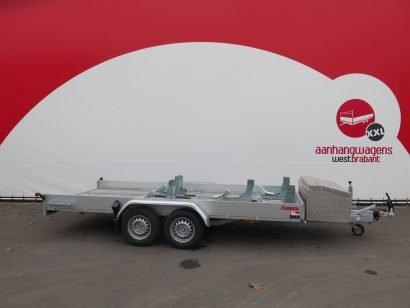Maatwerk motortrailer voor meerdere motoren Aanhangwagens XXL West Brabant hoofd