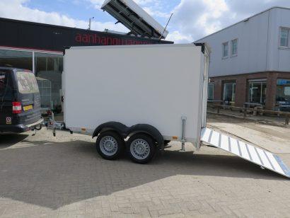 Proline gesloten aanhanger 304x151x180cm 2500kg klep Aanhangwagens XXL West Brabant hoofd
