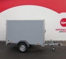 Saris gesloten aanhanger 256x134x150cm 1350kg grijs Aanhangwagens XXL West Brabant hoofd Aanhangwagens XXL West Brabant