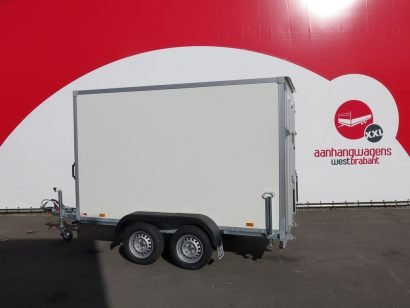 Easyline gesloten aanhanger 306x157x188cm 1500kg klep Aanhangwagens XXL West Brabant hoofd