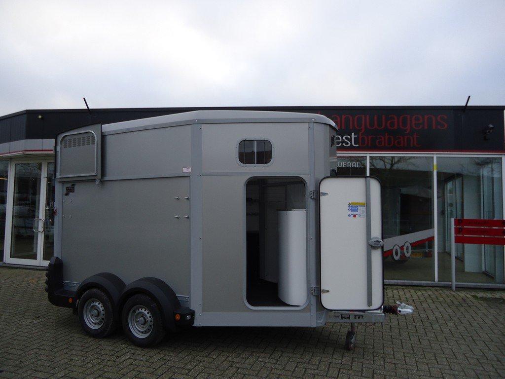 Ifor Williams HB511 2 paards paardentrailer met zadelkamer Aanhangwagens XXL West Brabant hoofd Aanhangwagens XXL West Brabant