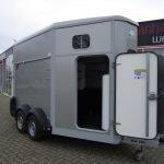 Ifor Williams HB511 2 paards paardentrailer met zadelkamer Aanhangwagens XXL West Brabant voorkant Aanhangwagens XXL West Brabant