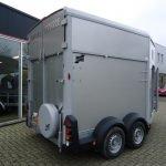 Ifor Williams HB511 2 paards paardentrailer met zadelkamer Aanhangwagens XXL West Brabant zijkant Aanhangwagens XXL West Brabant