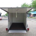 Proline gesloten aanhanger 280x176x180cm 1500kg zakbaar Aanhangwagens XXL West Brabant 2.0 achterkant Aanhangwagens XXL West Brabant