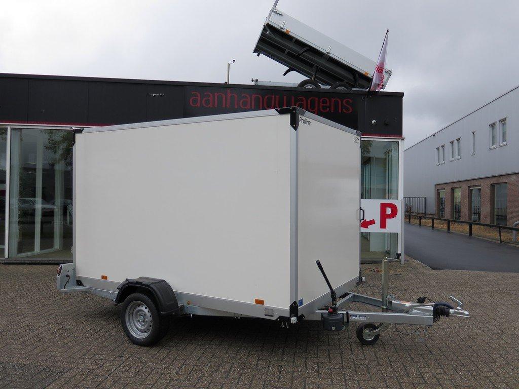 Proline gesloten aanhanger 280x176x180cm 1500kg zakbaar Aanhangwagens XXL West Brabant 2.0 vlak Aanhangwagens XXL West Brabant