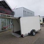 Proline gesloten aanhanger 280x176x180cm 1500kg zakbaar Aanhangwagens XXL West Brabant 2.0 zijkant Aanhangwagens XXL West Brabant