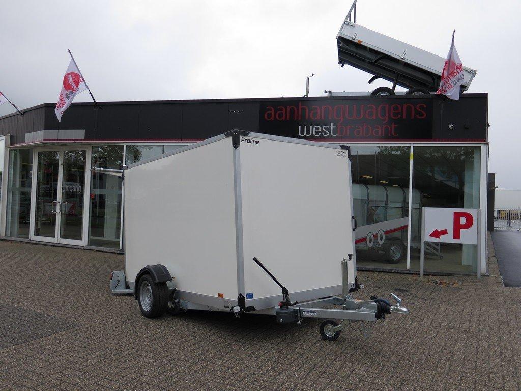 Proline motortrailer 280x176x180cm 1500kg gesloten Aanhangwagens XXL West Brabant 2.0 hoofd Aanhangwagens XXL West Brabant
