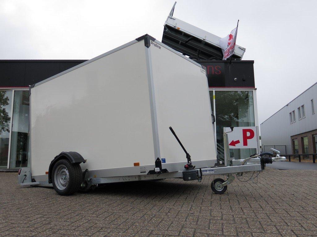 Proline motortrailer 280x176x180cm 1500kg gesloten Aanhangwagens XXL West Brabant 2.0 overzicht Aanhangwagens XXL West Brabant