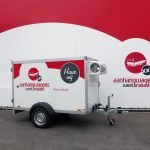 Koelaanhangwagen geremd 250x130x150cm 1300kg