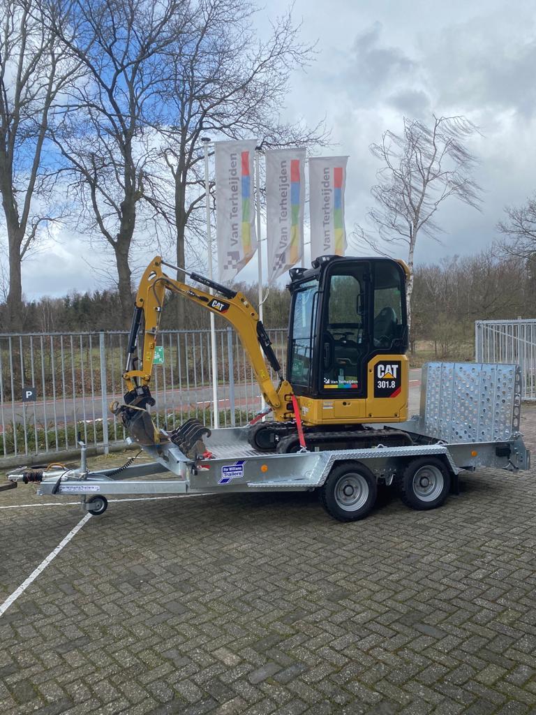 Ifor Williams GH126 machinetransporter 366x184cm 3500kg