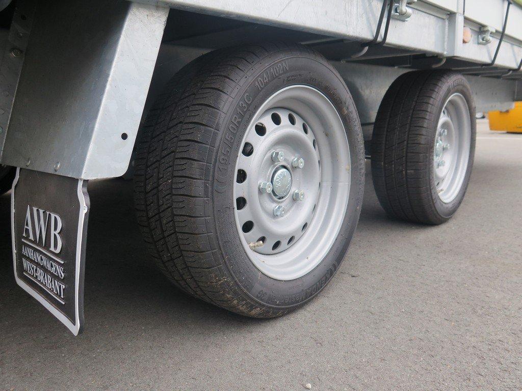 Proline huifaanhangwagen 502x220x210cm 3500kg