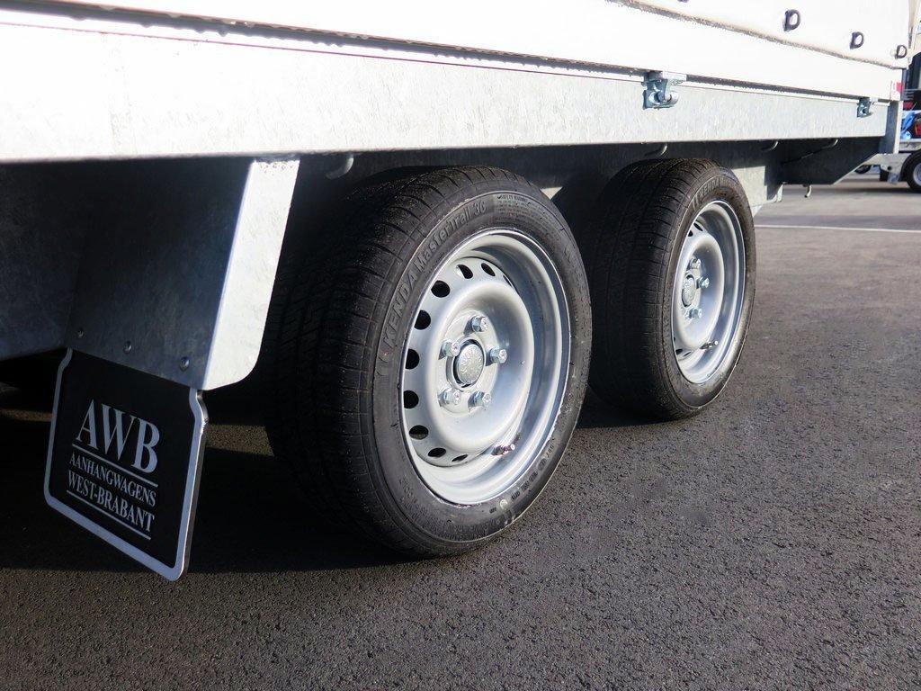 Proline huifaanhangwagen 301x155x200cm 2000kg