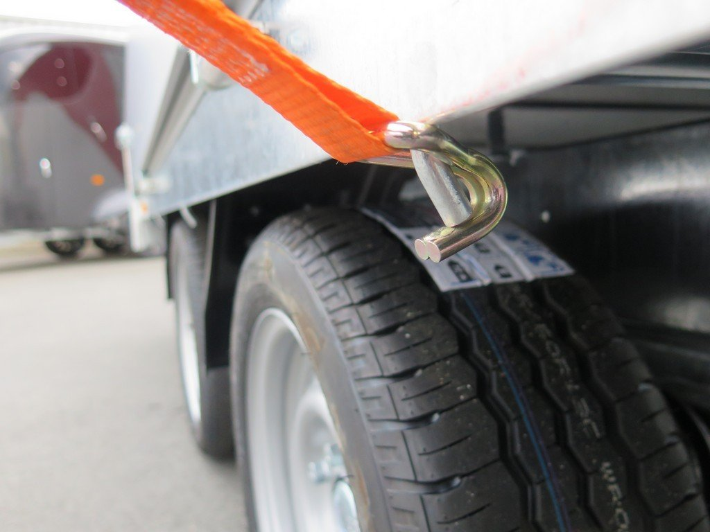 Easyline plateauwagen 405x180cm 2850kg