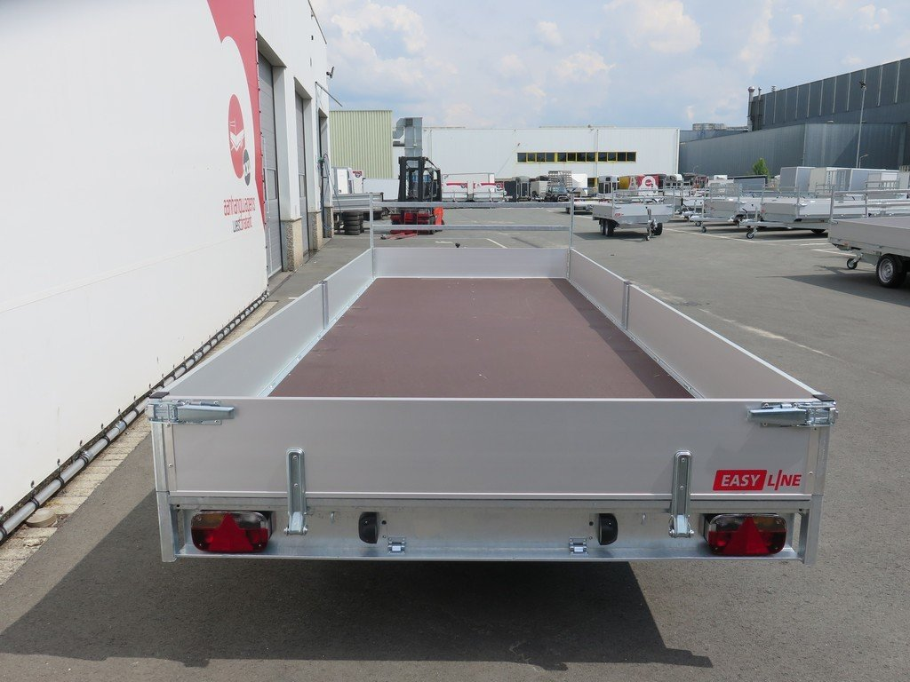 Easyline tridemas plateauwagen 550x200cm 3500kg