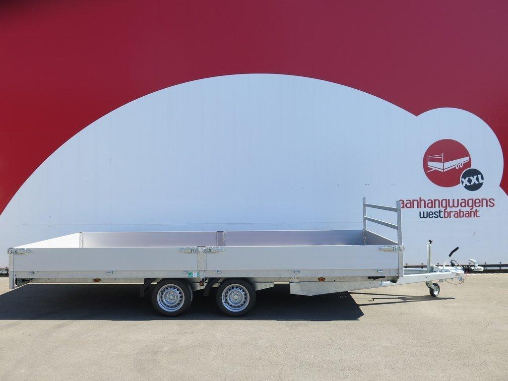 Easyline plateauwagen 555x220cm 3500kg