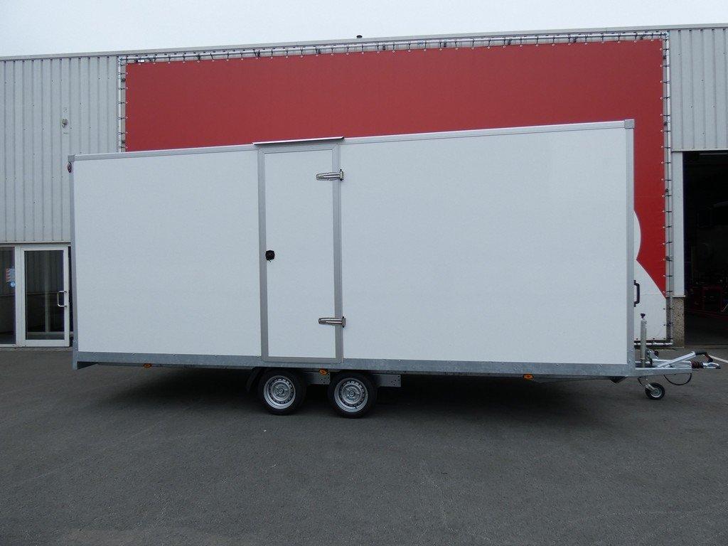 Easyline gesloten aanhangwagen 606x230x230cm 2800kg