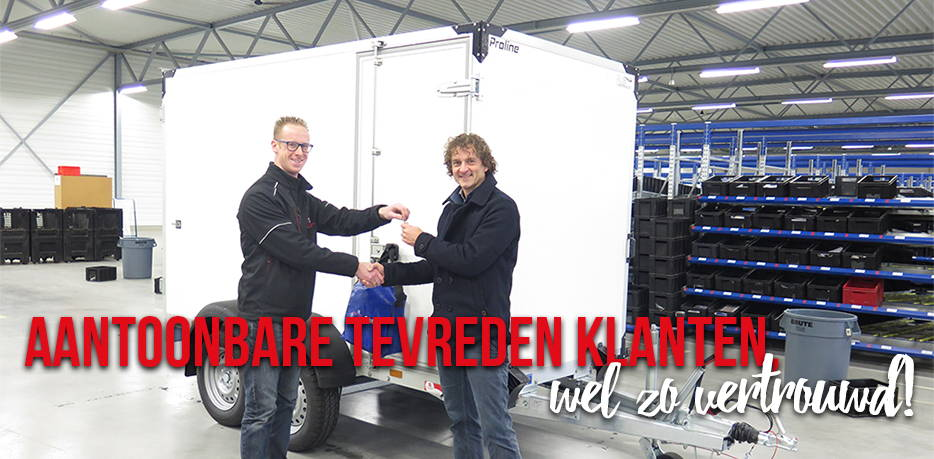 Aanhangwagens XXL West Brabant - Aantoonbare tevreden klanten 2.0 Aanhangwagens XXL West Brabant