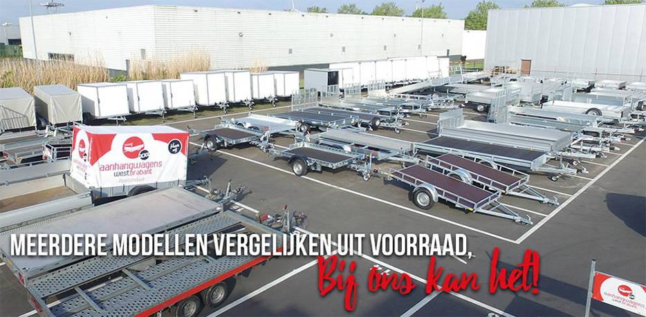 Aanhangwagens XXL West Brabant - Meerdere modellen vergelijken uit voorraad 2.0 Aanhangwagens XXL West Brabant